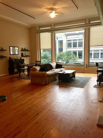 1 Bedroom in Spacious Downtown Loft