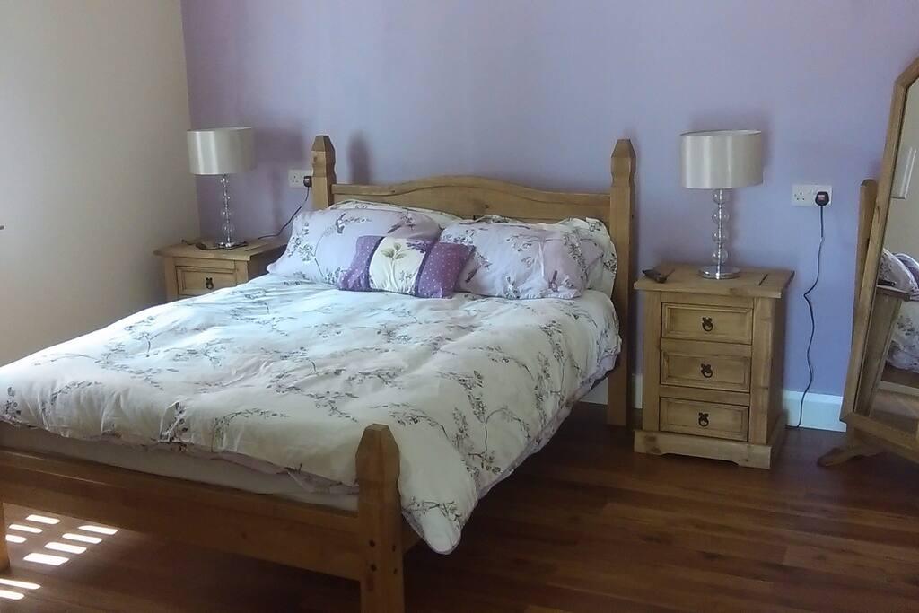 1st bedroom in the barn