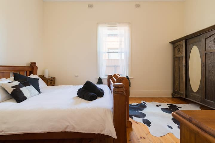 Beautiful room with comfy bed in great location.