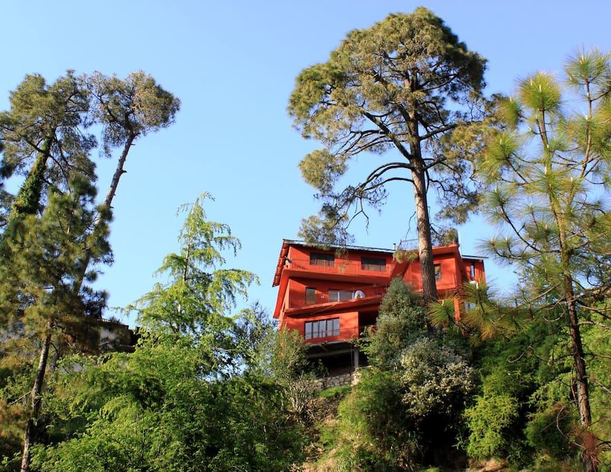 Cedar Villa exterior view