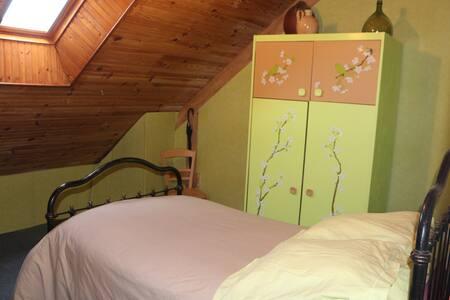 chambre dans grande maison sur gd terrain arboré - Roézé-sur-Sarthe - 宾馆