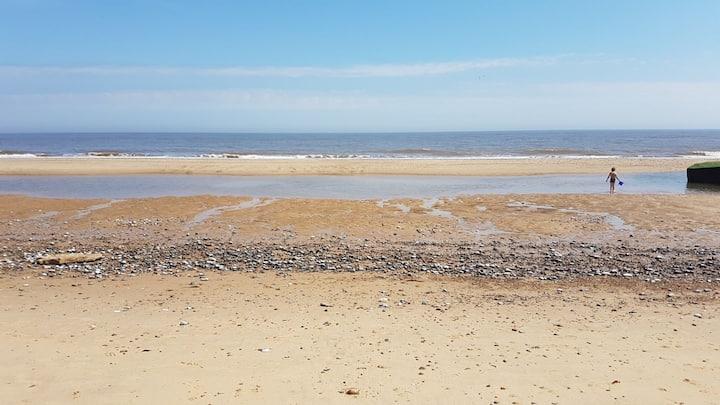 Quintessential British seaside property in Norfolk
