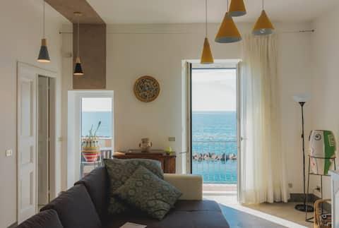 La Concha - Suite vista mare per 4 ospiti, Pioppi