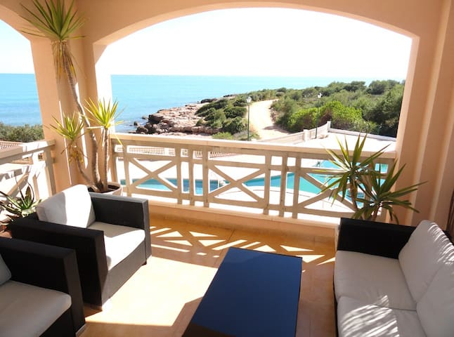 SEA HOME Awesome waterfront apartment - Peñíscola - Kondominium