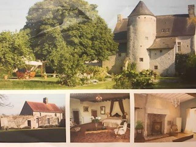 Beau manoir du 16ème siècle sur 8000m² de terrain - Écoquenéauville - Castelo