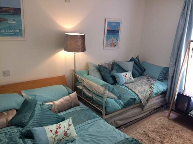 Comfort and turquoise
