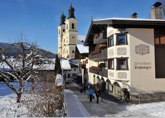 Ferienhaus Schwaiger - Appartement Schwaiger - Hopfgarten-Markt - Departamento