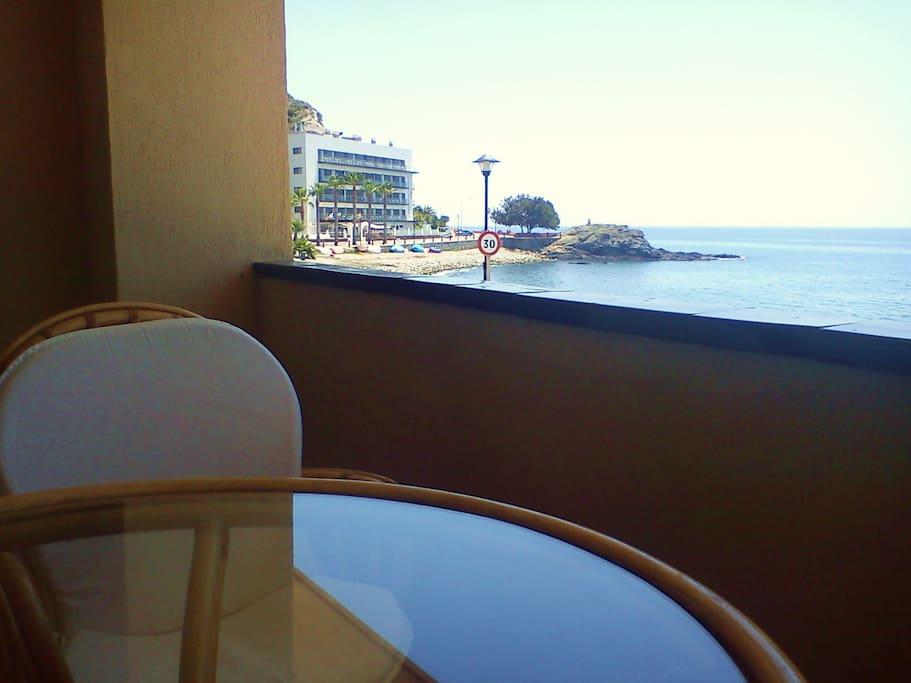Bonito apartamento frente mar playa apartamentos en alquiler en almu car granada espa a - Apartamentos en granada playa ...
