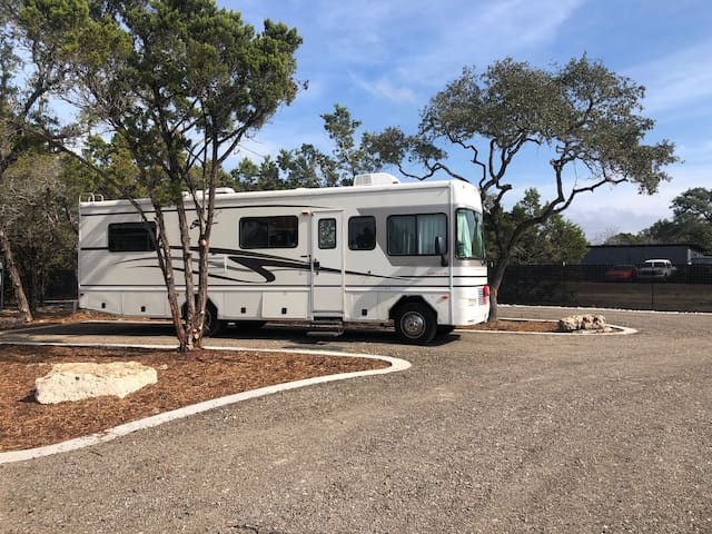 Back-In RV Space, Space 6
