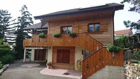 Room in family chalet