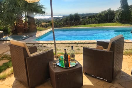 House with pool by the sea in South  Sardinia