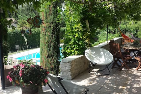 Chambre ZEN vers Aix en Provence - Villa
