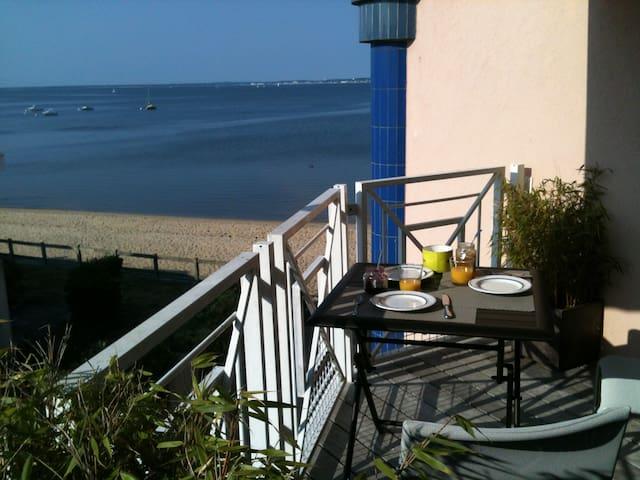 T2 vue mer, 30m plage, plein centre - Andernos  - Condominio