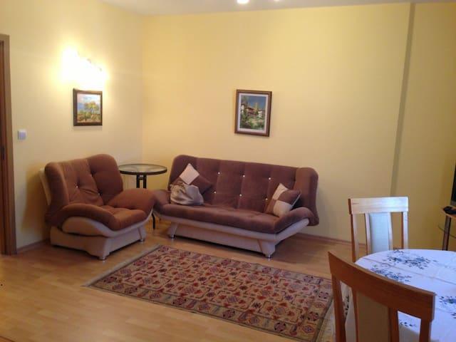 Уютная квартира с балконом - Primorsko - Apartment