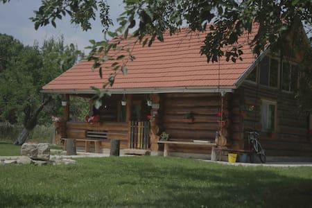Transylvania Log Cabin - Peșteana - Srub