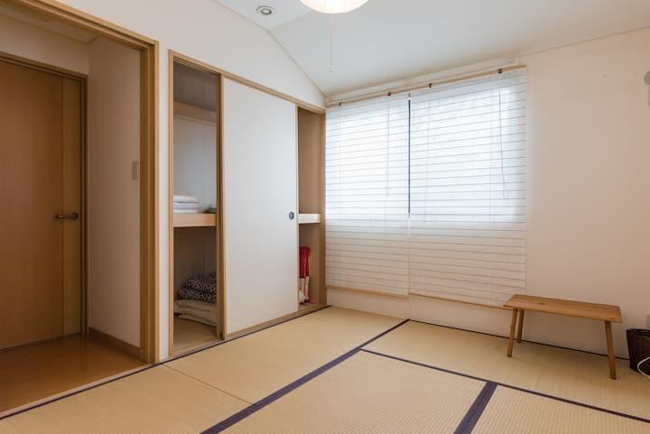 湘南・住宅街  一軒家の和室でのんびり過ごしませんか?
