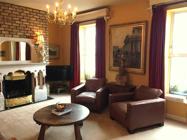 Georgian Irish flat in trendy Portobello - Dublin