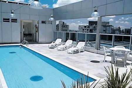 Luxo e conforto em Lourdes - Belo Horizonte - Apartemen berlayanan