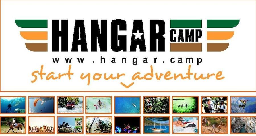 Hangar Camp, start your adventure!