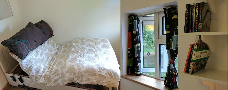 Orthopedic Massage Bed, Fast WiFi + Bike Included