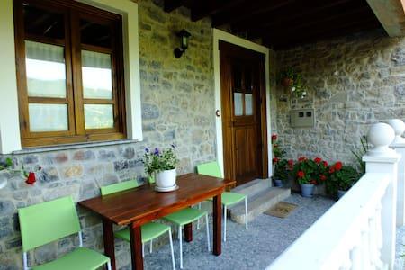 Casa típica de pueblo asturiano - Samalea, Piloña - Dům