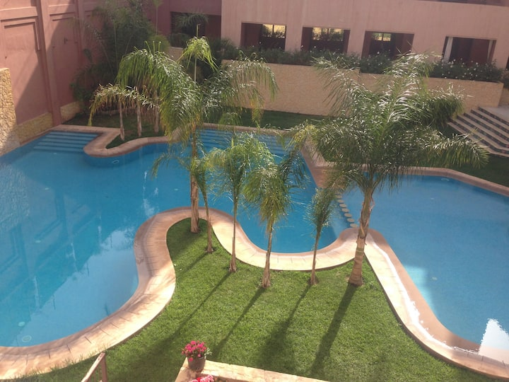 Résidence soltana avec piscine