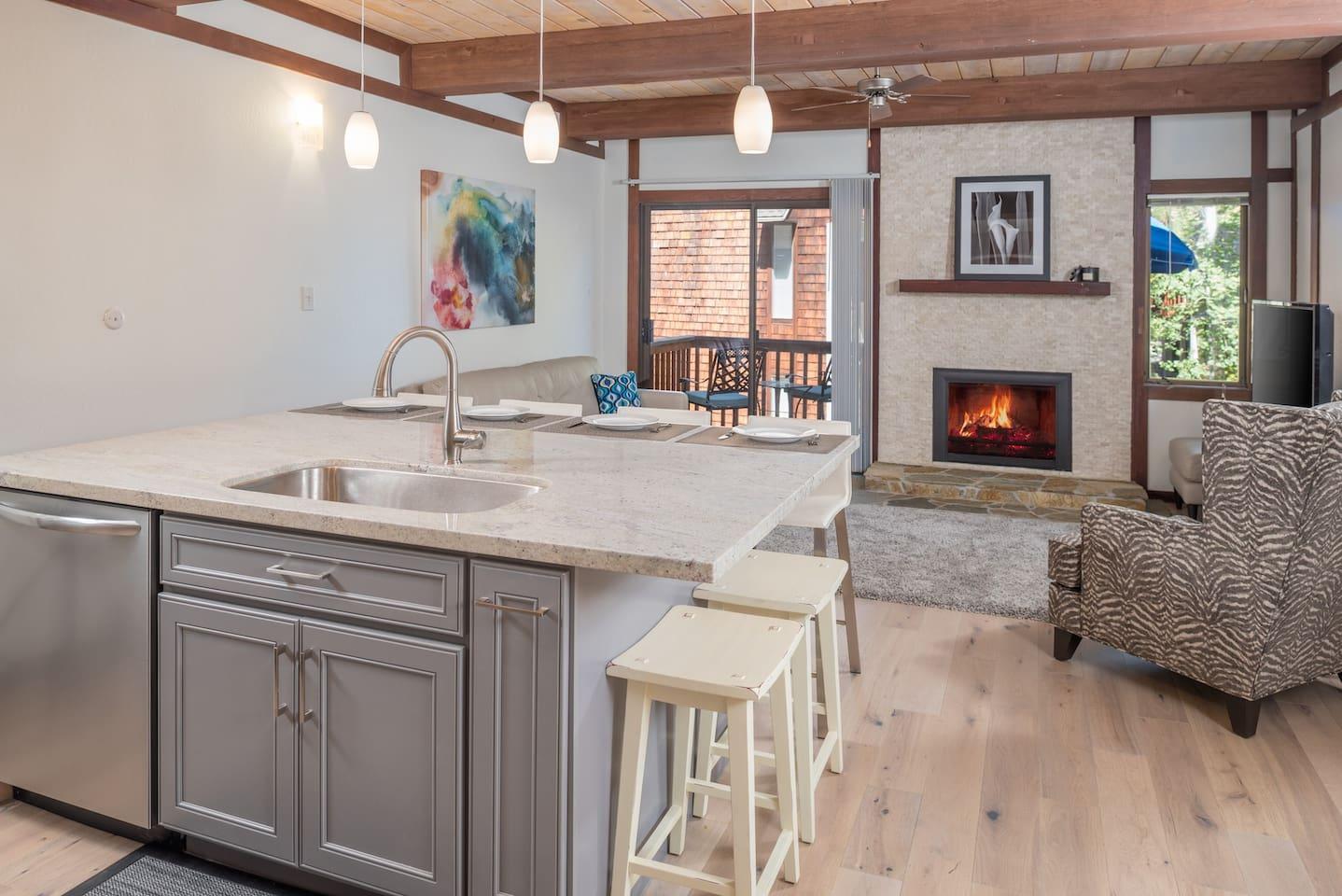 Kitchen/Living Room Combo