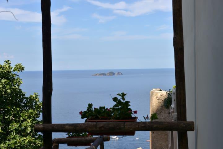 La Meridiana Azzurra - Blu view - Positano - Lakás