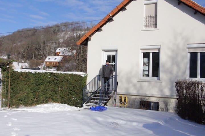 Belle maison calme proche des pistes du Mont Dore