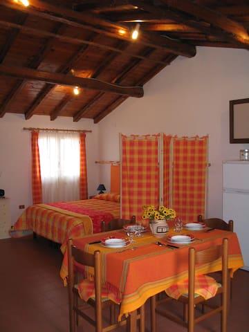 Vista Etna! Accogliente-confort-romantico-centrale - Zafferana Etnea - Apartamento