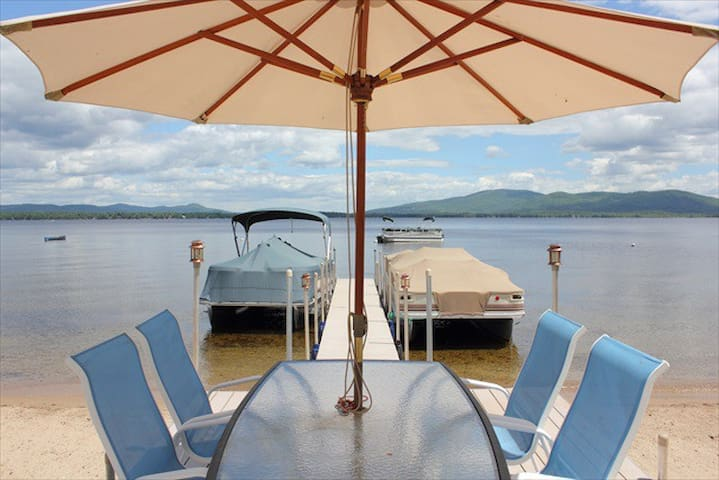 100 ft Water Front, Lake Ossipee NH