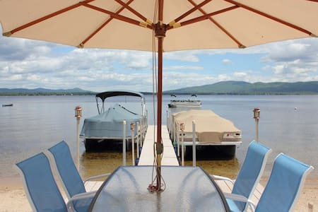 100 ft Water Front, Lake Ossipee NH - Apartamento