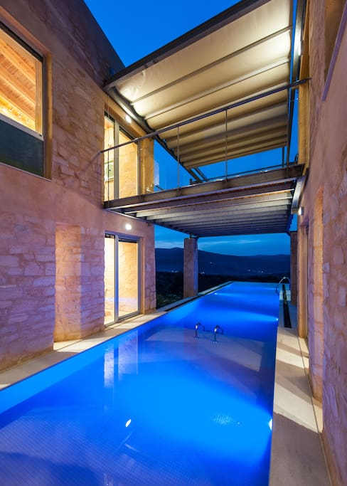 The private pool is actually a jewel!