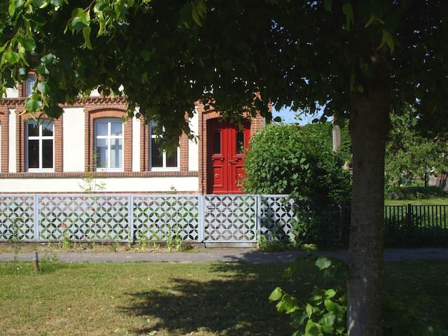 Ferienwohnung im Dorf - Brunow - Apartament