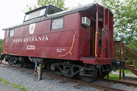 1941 Restored Vintage Caboose - Lock Haven - Train