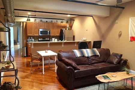 Industrial downtown apartment - 哈里森堡(Harrisonburg) - 公寓