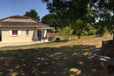 "Holiday cottage T2 - ""The Serenity"" - Saint-Vivien-de-Monségur - Apartment"
