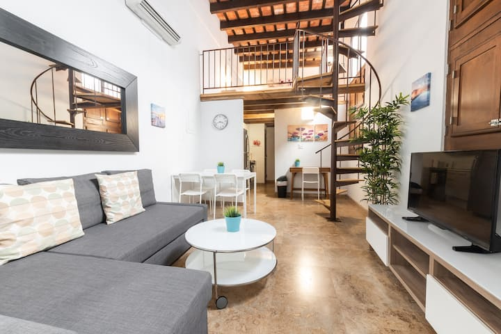 Old San Juan Pent house Loft with Rooftop (3rd)