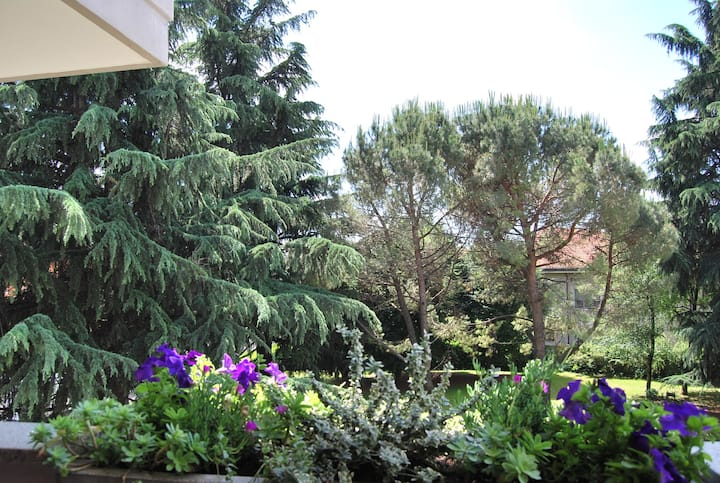 Hospitable three-room modern near Milan,Como,Monza