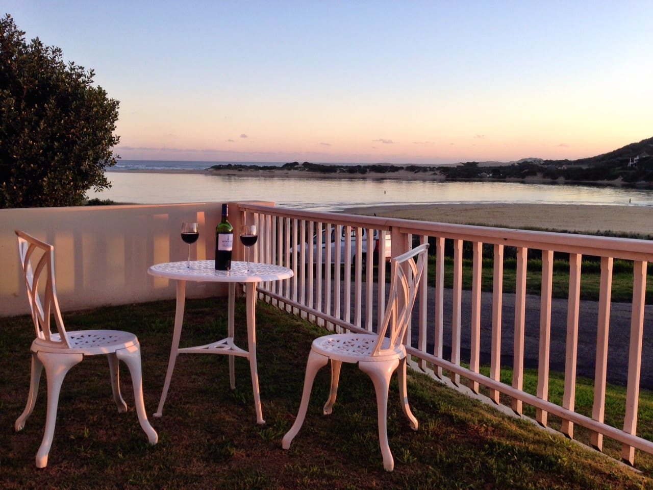 Your own private garden for sundowners & BBQs