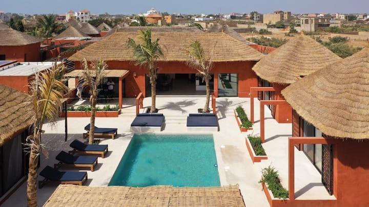 Villa neuve, contemporaine et design à Ngaparou