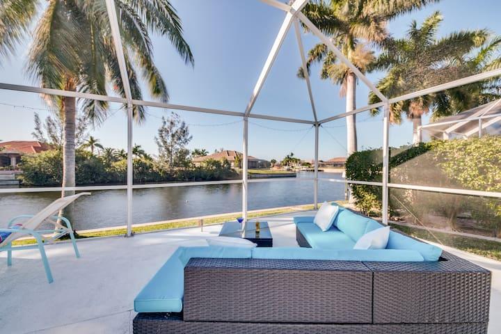 Villa Southview – große Terrasse, Pool, am Kanal - Cape Coral - Villa