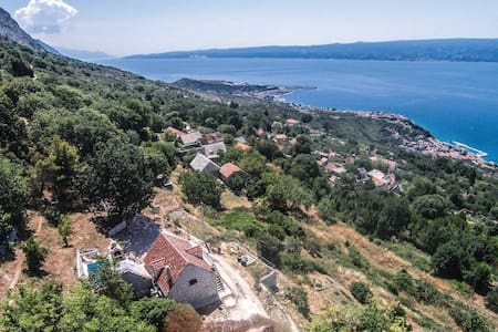 Traditional Dalmatian house with panoramic view