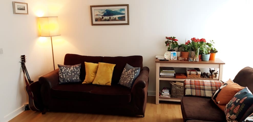 Warm and lovely double bedroom, private en-suite