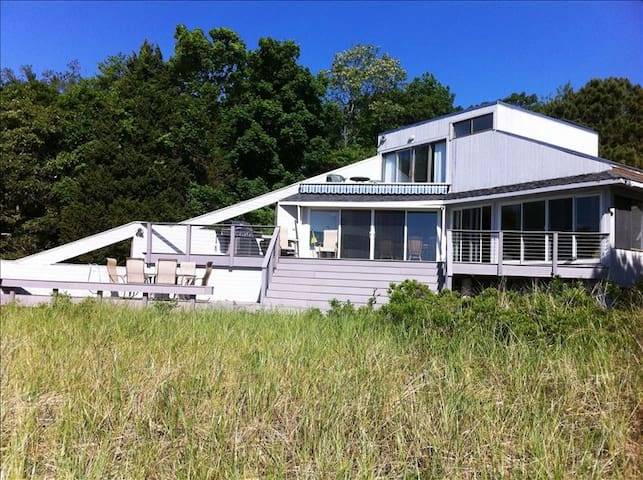 Beachfront Bliss on the Peconic - Laurel - Haus