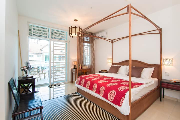 Balik Pulau BookLodge: Junior Suite
