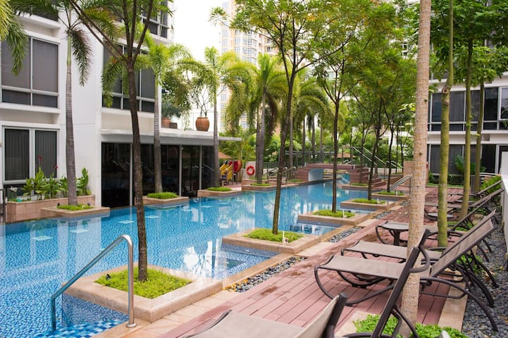 Cozy Luxurious Condo in Singapore - Singapur - Daire