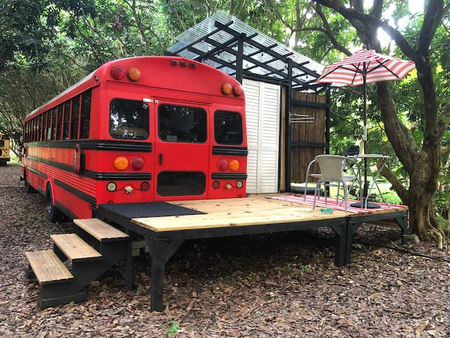 "The ""Zen Bus"" at the Z Button Farm"