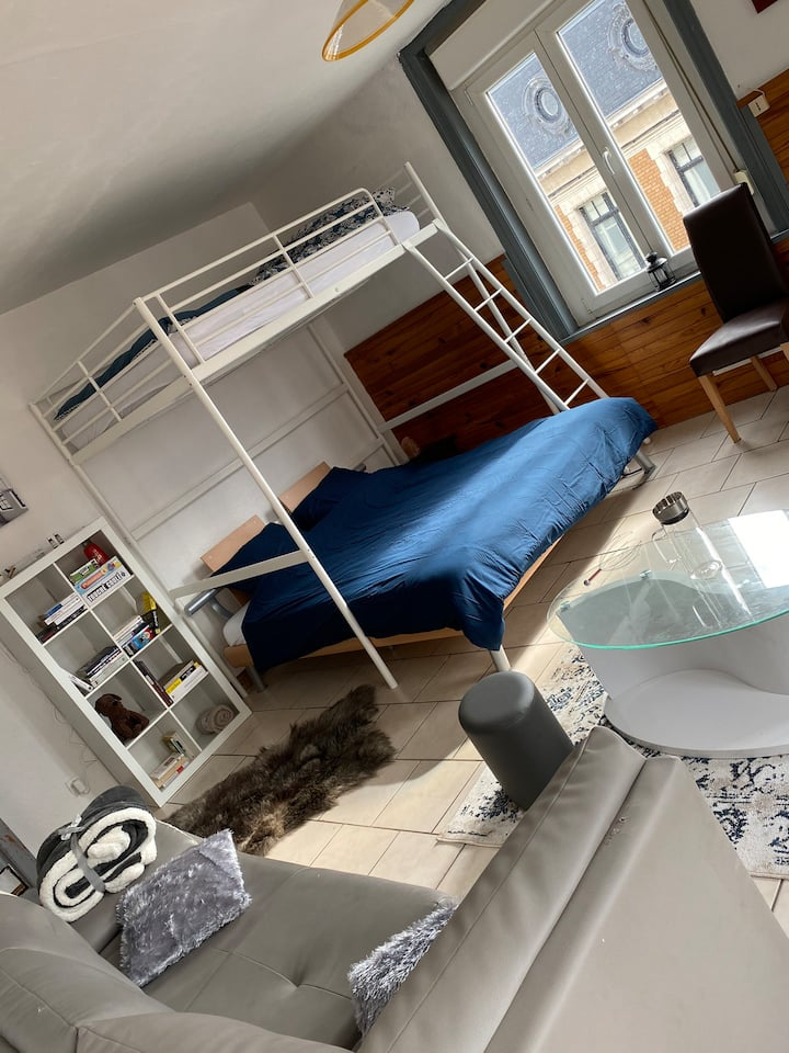 Appartement Lille - Métro Bourg