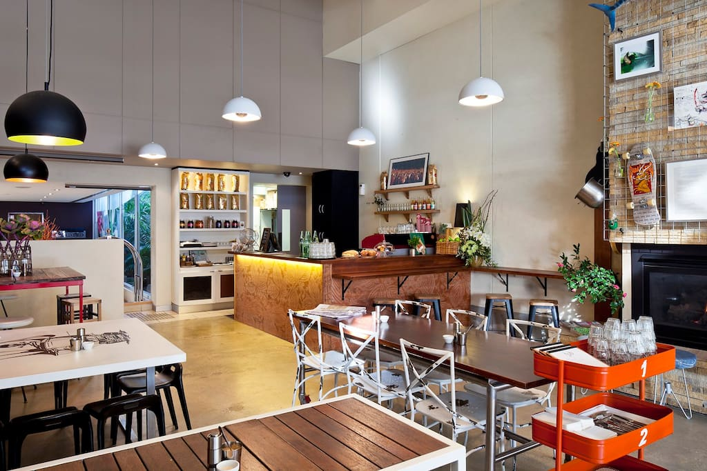 Our cafe Hub